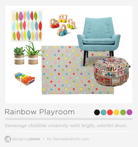 Designing Dawn - Rainbow Room