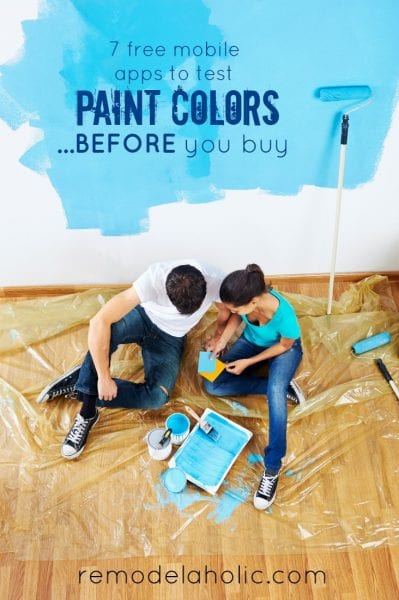 7 Free Mobile Apps to Test Paint Color BEFORE You Buy