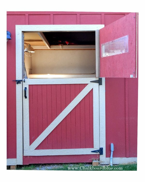 How to Build a Storage Shed and Attached Chicken Coop by Chalkboardblue featured on Remodelaholic