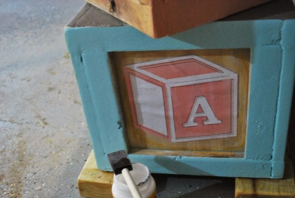 How to Create Building Blocks for Childrens Playtable by ToolBox Divas for Remodelaholic
