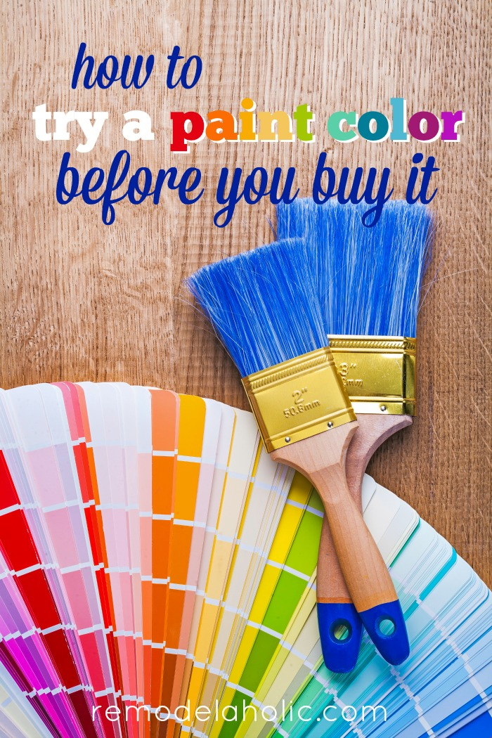 Test Try Results Original Crealash: How To Test A Paint Color Before You Buy It