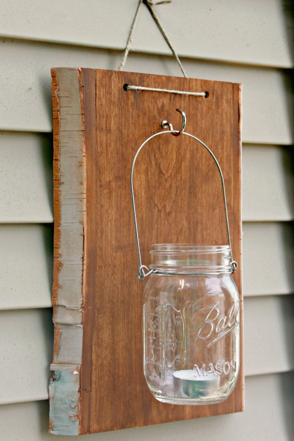 Mason Jar Wall Sconce Diy