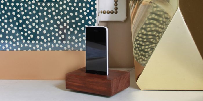 Simple Knock-off Phone Charging Station