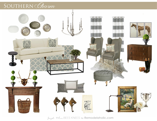 Southern Charm ~ Decorating Inspired by the South | Remodelaholic ...