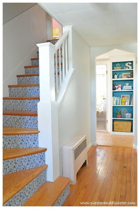 Carpet to Hardwood Stair Remodel