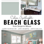 Beautiful Paint In Any Lighting Or Any Room, Beach Glass By Benjamin Moore On Remodelaholic
