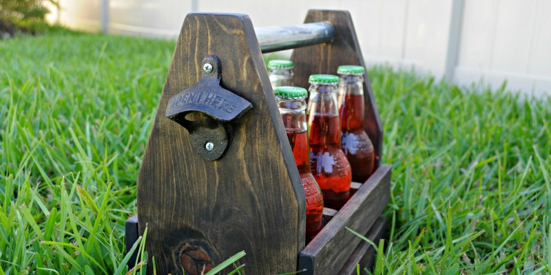 All Purpose, Every Occasion Wooden Caddy Tutorial