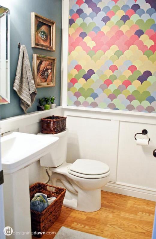 Rainbow Playroom Inspiration   Found on Designing Dawn