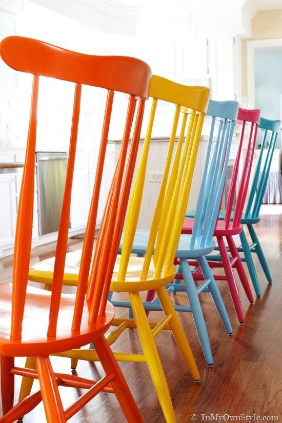 Rainbow Playroom Inspiration   Found on inmyownstyle.com