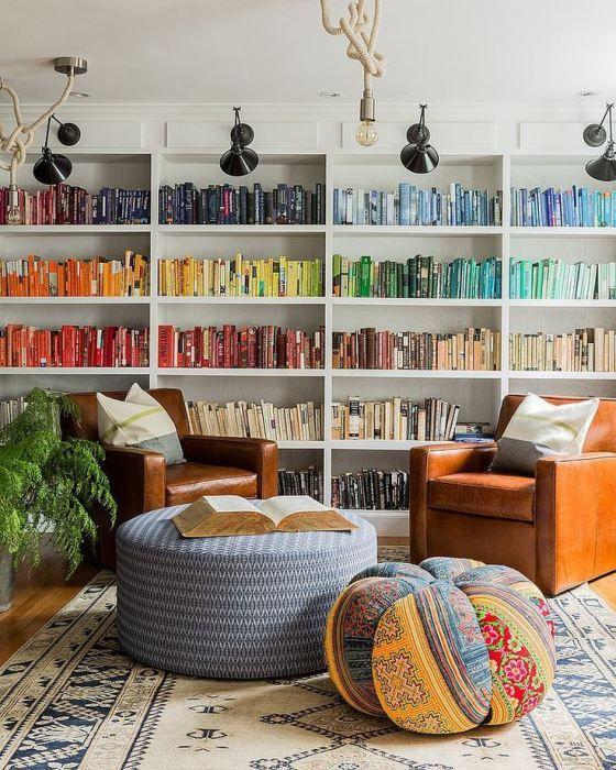 Rainbow Playroom Inspiration   Found on stylecaster.com