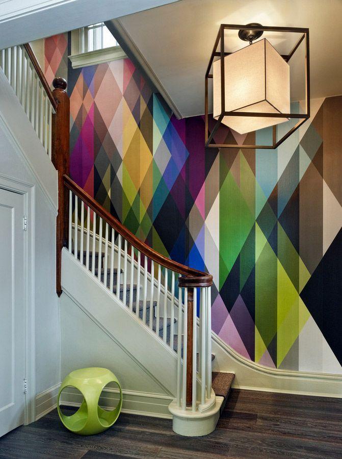 Rainbow Playroom Inspiration   Found on buzzfeed.com