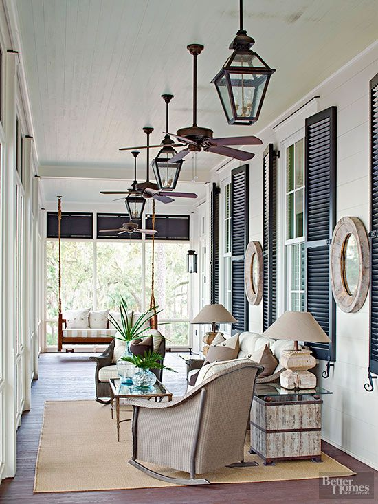 Remodelaholic southern charm decorating inspired by the south - Timelessly charming farmhouse style furniture for your home interior ...