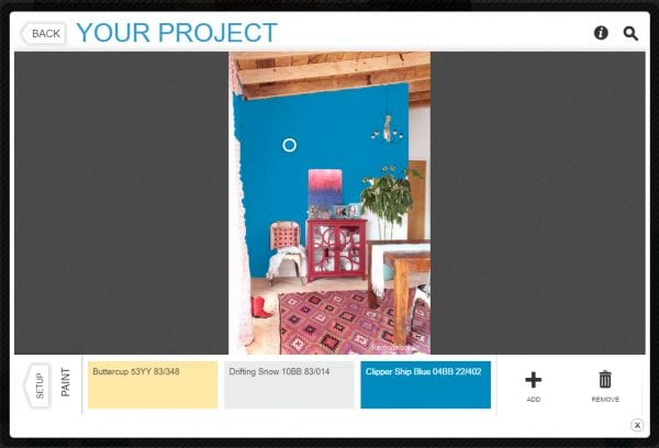 7 free online tools to test paint color before you buy - Glidden Room Visualizer