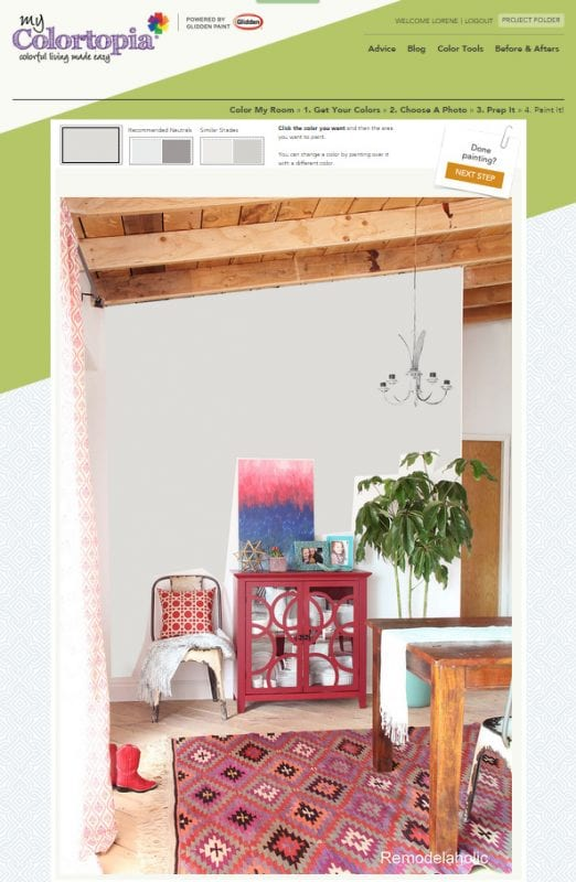 7 free online tools to test paint color before you buy - My Colortopia Color My Room