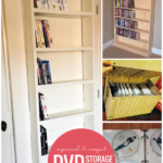 Organized And Compact DVD Storage Ideas On Remodelaholic