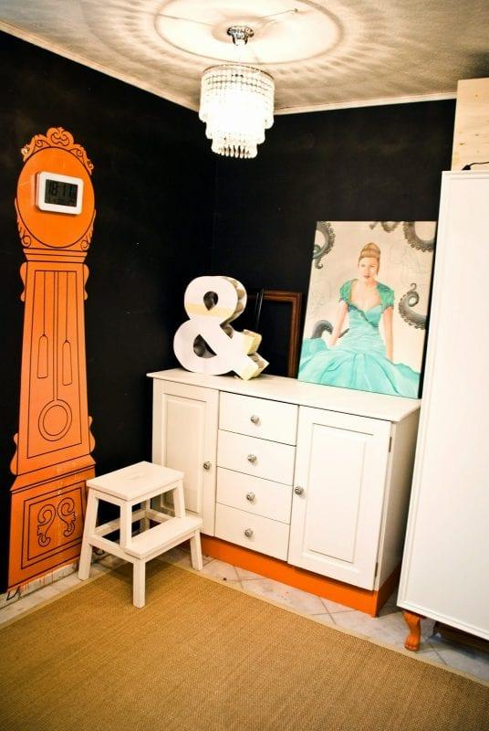 painted craft room storage dresser - Pudel Design