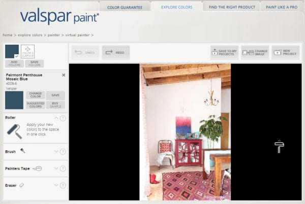 Valspar Exterior Paint Virtual Painter