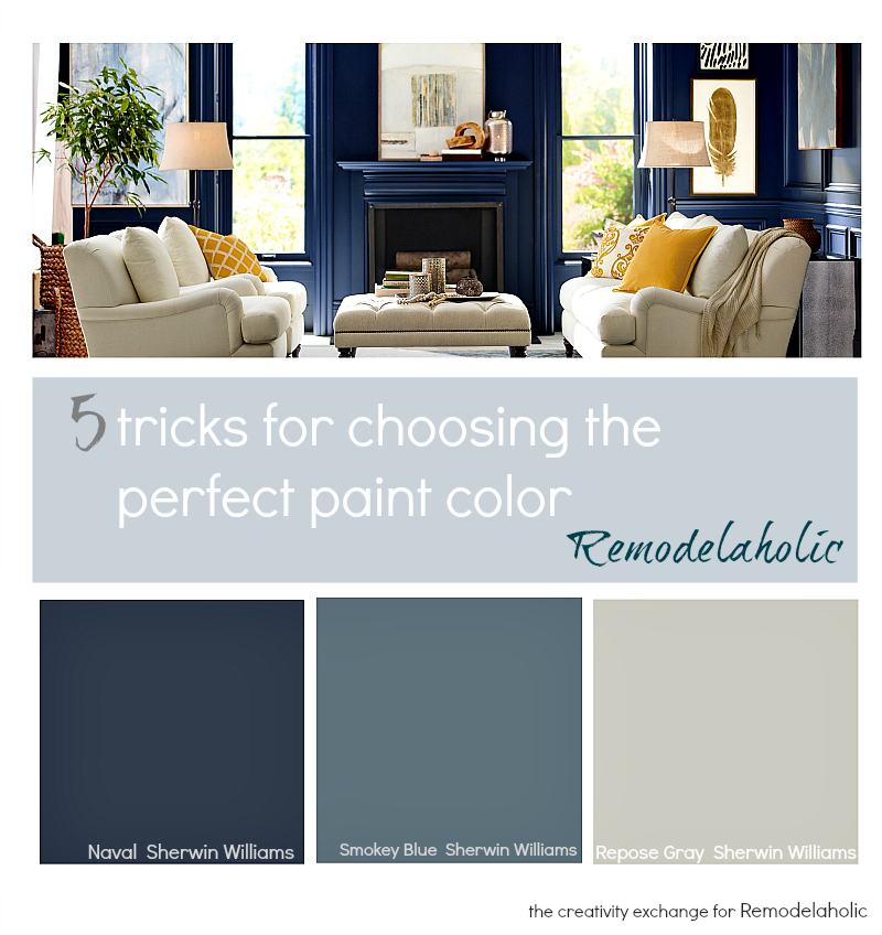 Evejulien 5 tricks for choosing the perfect paint color for Perfect paint