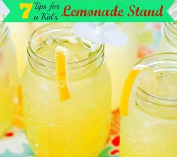 7 Tips for a Kid's Lemonade Stand
