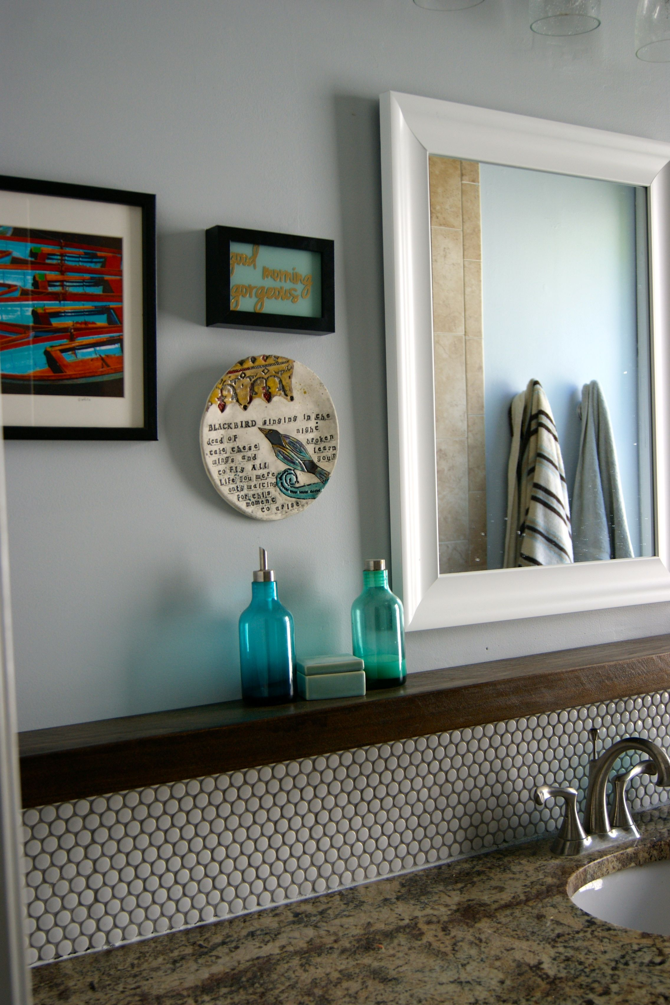 Remodelaholic Tips For Installing A Penny Tile