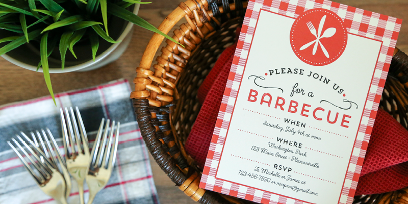 Free Printable Barbecue Invitation