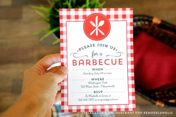 remodelaholic free printable barbecue invitation