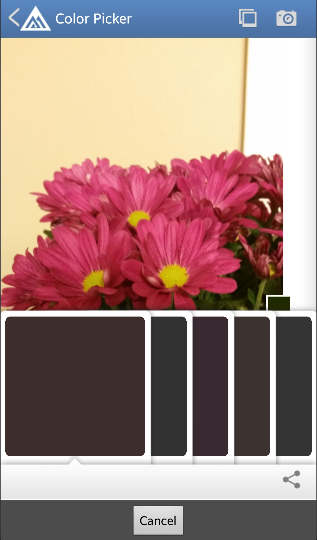 Benjamin Moore Color Picker - Free Android DIY App to Select a Paint Color from a & Remodelaholic | Apps to Match and Find Paint Color Palettes from a Photo