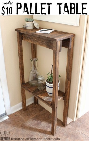 Remodelaholic Make A Charging Station From Pallet Wood