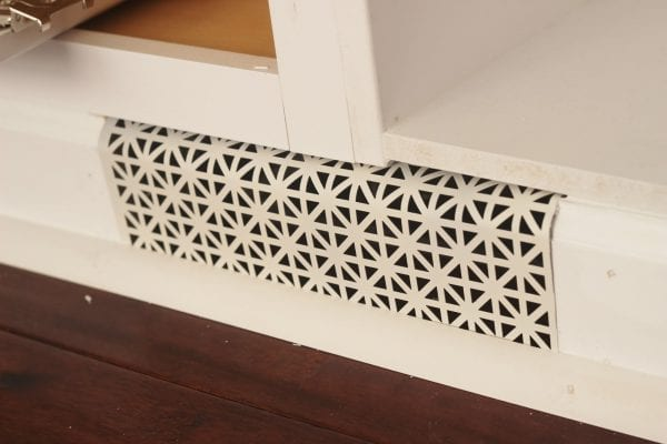 Built-In Cabinet Tutorial for Playroom Remodel by Delightfully Noted featured on Remodelaholic
