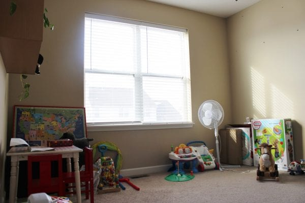 Built In Cabinet Tutorial for Playroom by Delightfully Noted featured on Remodelaholic