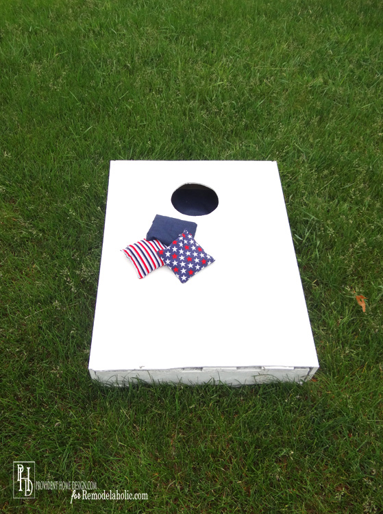 Cornhole Set from Pallet Upcycle