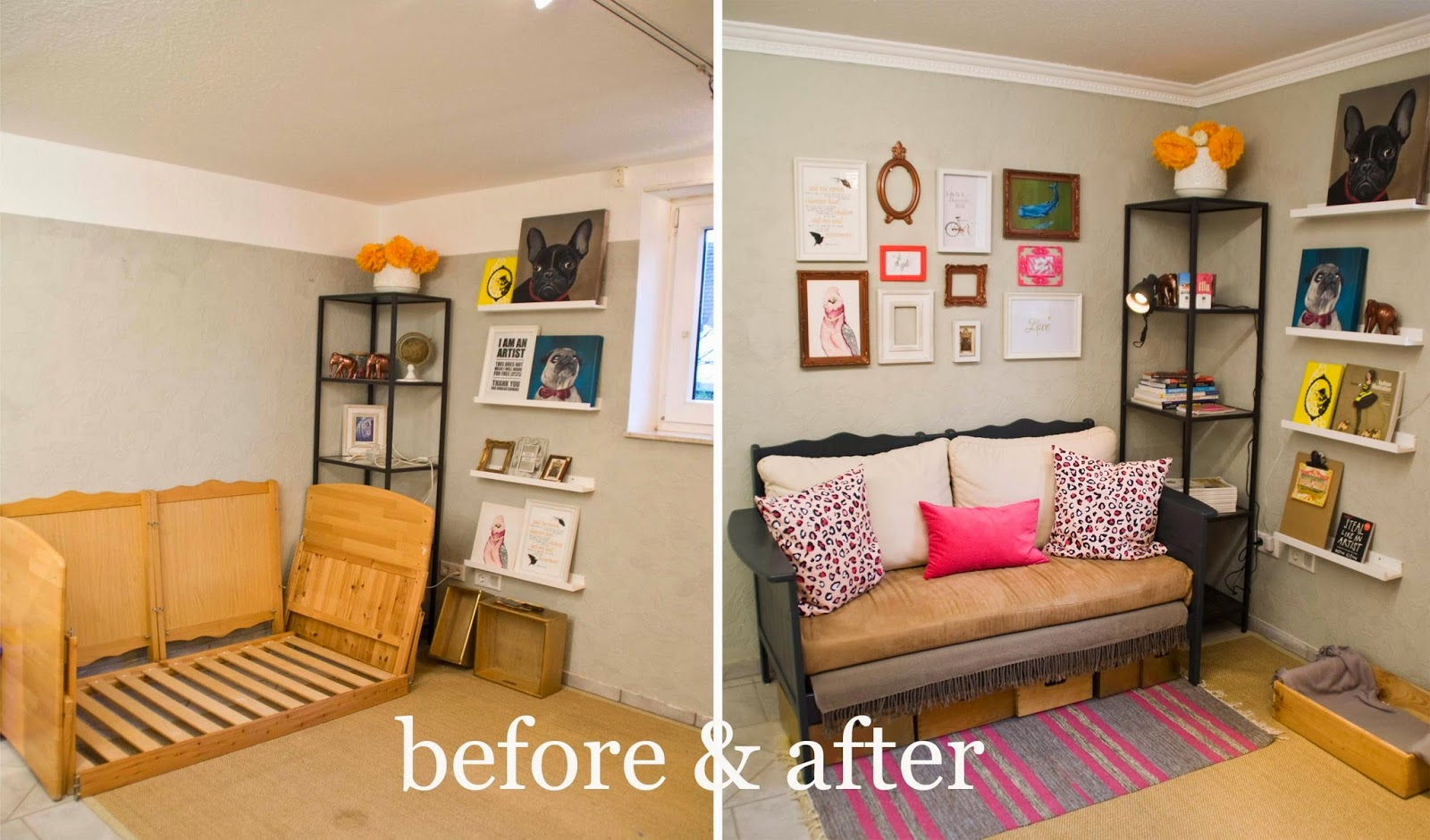 Remodelaholic Upcycled Crib Into Couch