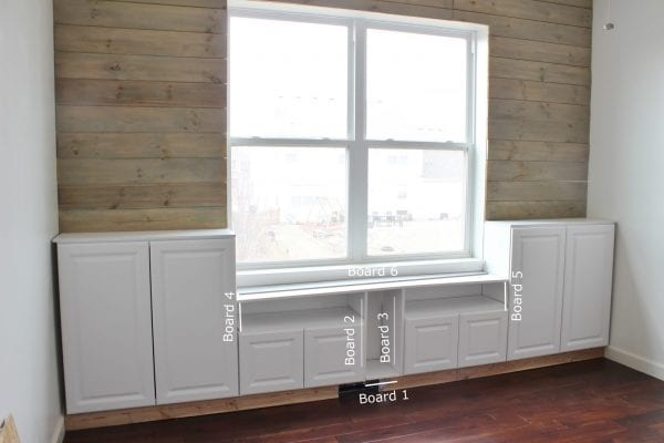 DIY Built-In Storage Cabinets by Delightfully Noted featured on Remodelaholic