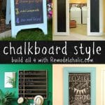 DIY Chalkboard Projects to Build