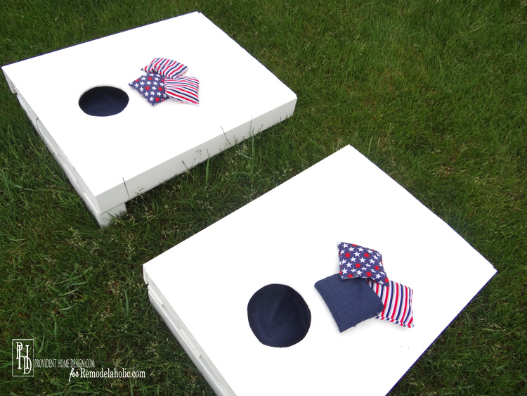 DIY Cornhole Instructions