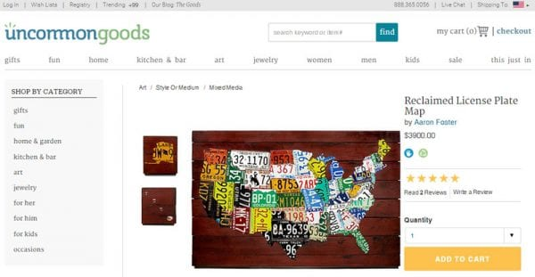 DIY License Plate Art Inspiration by Blue i Style featured on Remodelaholic