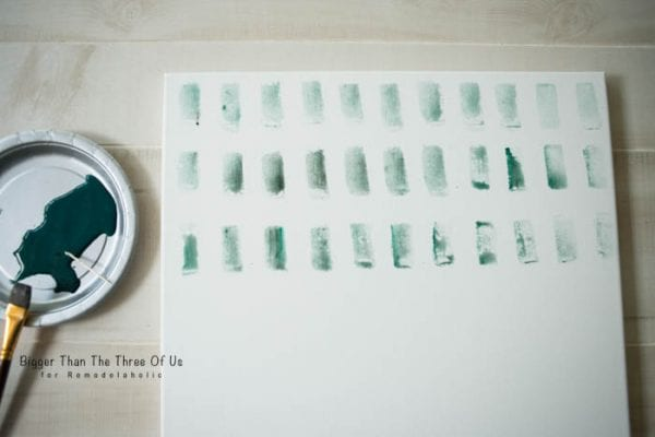 Easy Watercolor Art Tutorial by Bigger Than The Three Of Us for Remodelaholic