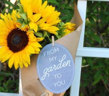 Printable Garden Gift Tags