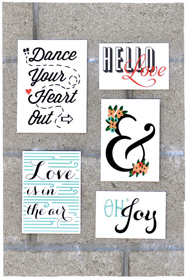 Remodelaholic 40 free art printables for gallery walls - Laminas decorativas para pared ...