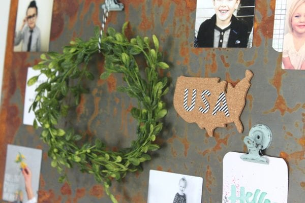 How to Create Industrial Wall Art by The Winthrop Chronicles featured on Remodelaholic