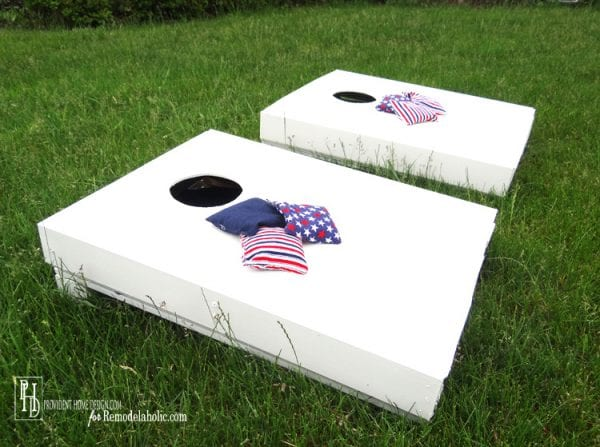 How to Make a Cornhole Set