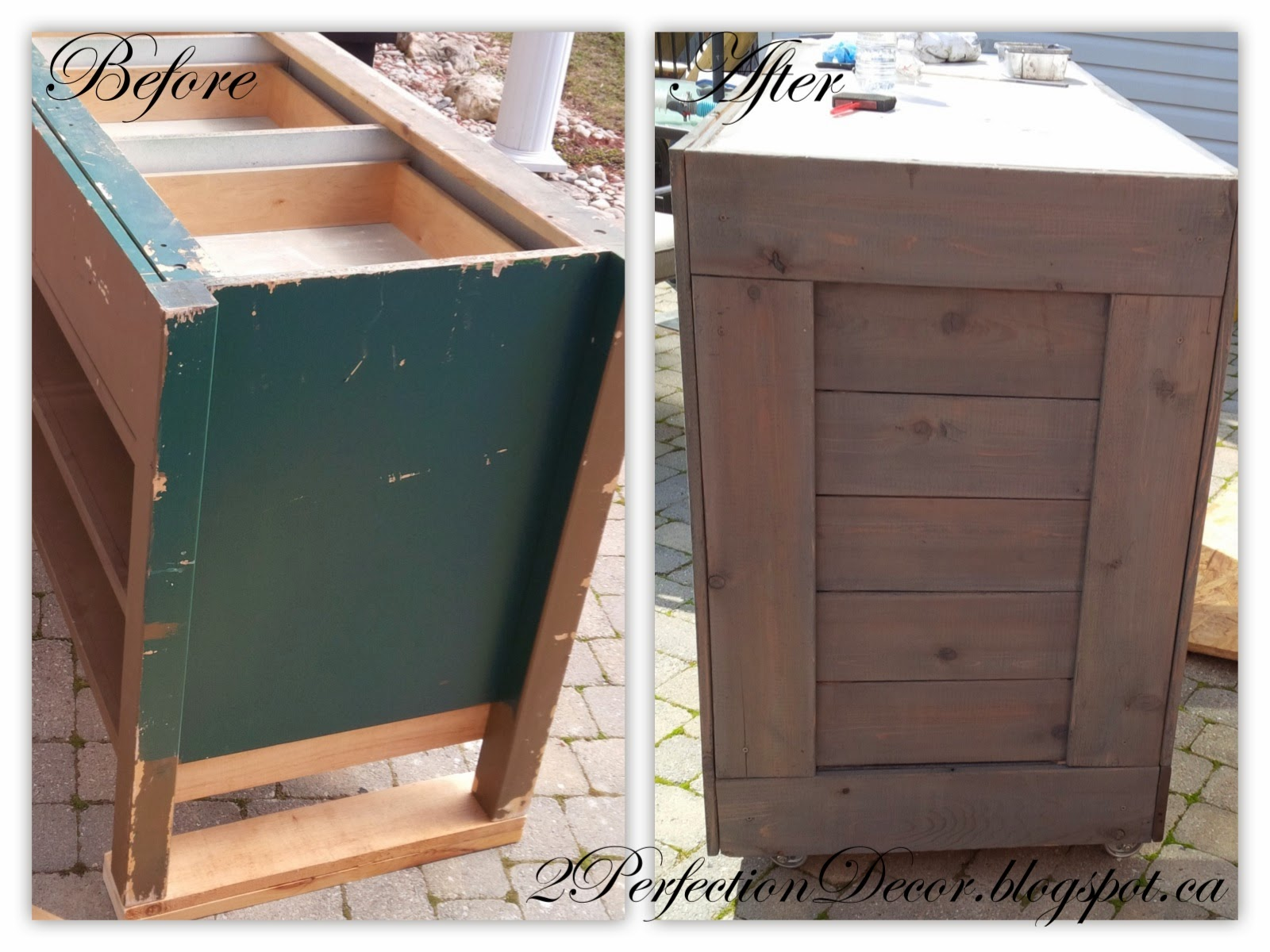 How To Upcycle A Cabinet Into A Wooden Bar By 2Perfection Decor Blog . Full resolution  image, nominally Width 1600 Height 1200 pixels, image with #946337.
