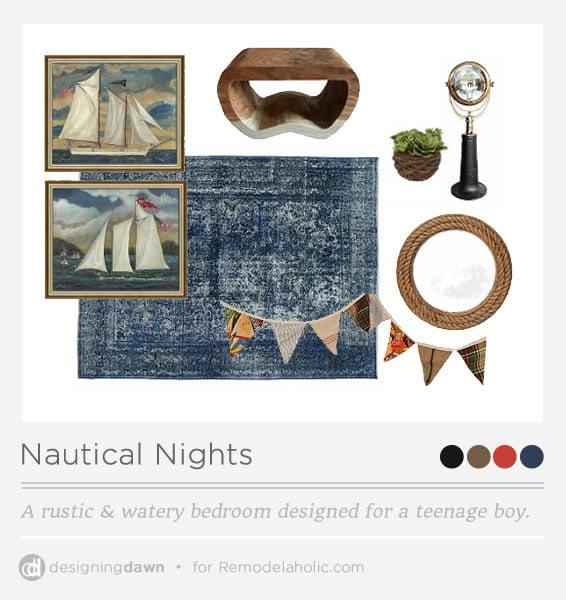 Nautical Boy Bedroom Cool Teenage Bedroom Chairs Baby Bedroom Boy Bedroom Furniture Beach Theme: Nautical Nights - A Rustic & Watery