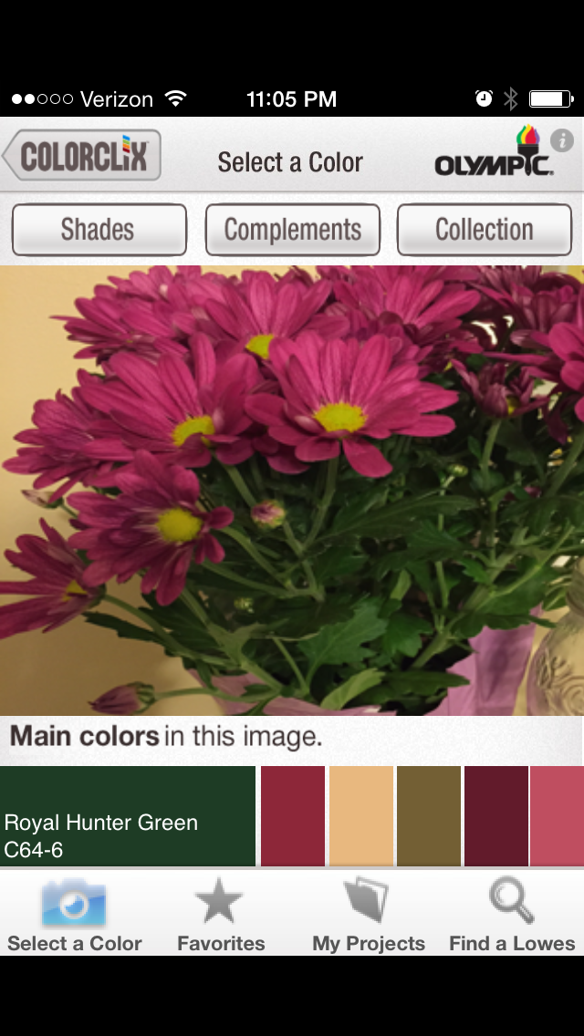 remodelaholic | apps to match and find paint color palettes from a