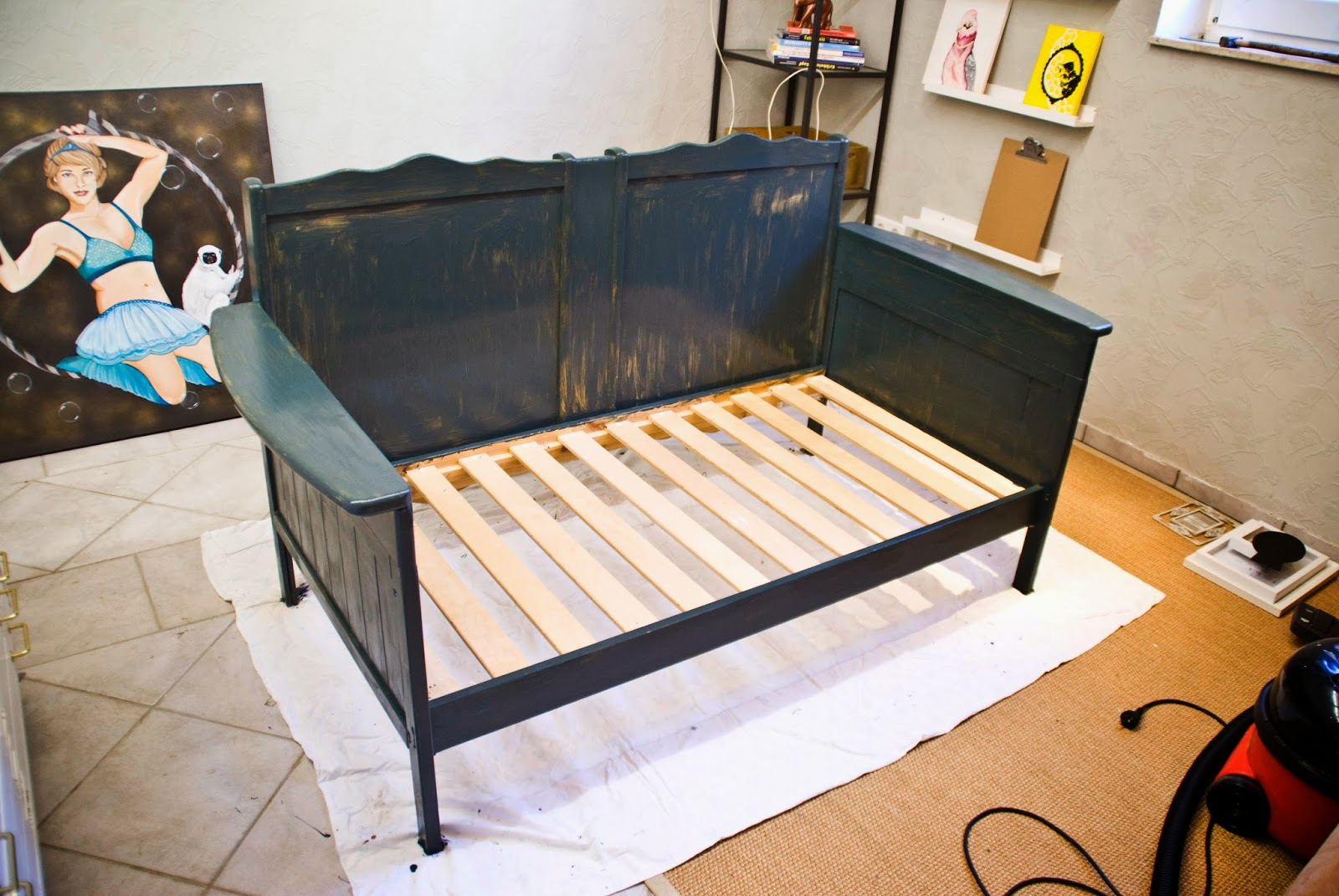 how to repurpose old furniture. Repurpose An Old Crib A Sofa By Pudel-design Featured On Remodelaholic How To Furniture