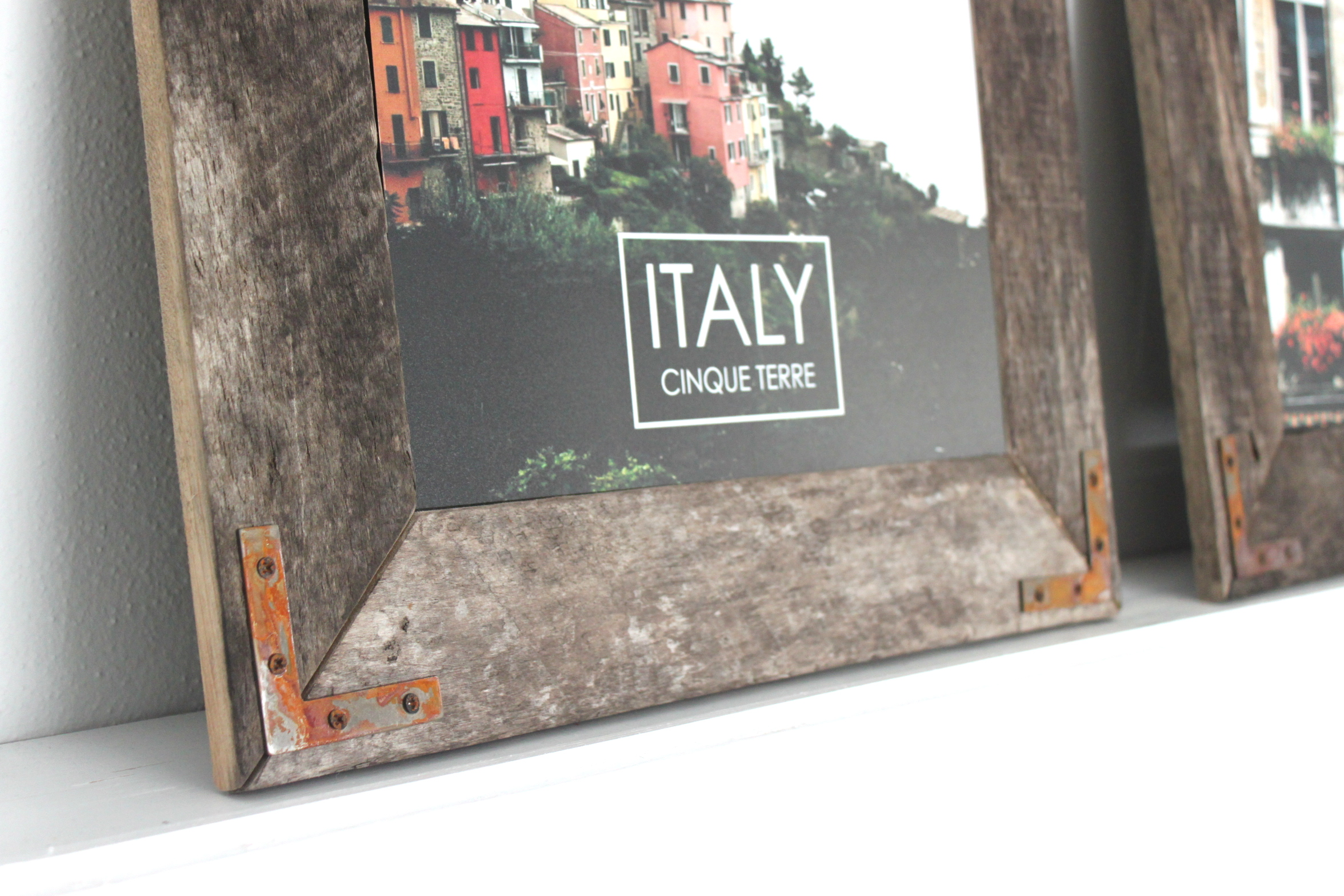 Homemade Rustic Picture Frames Remodelaholic Easy Diy Rustic Industrial Picture Frame
