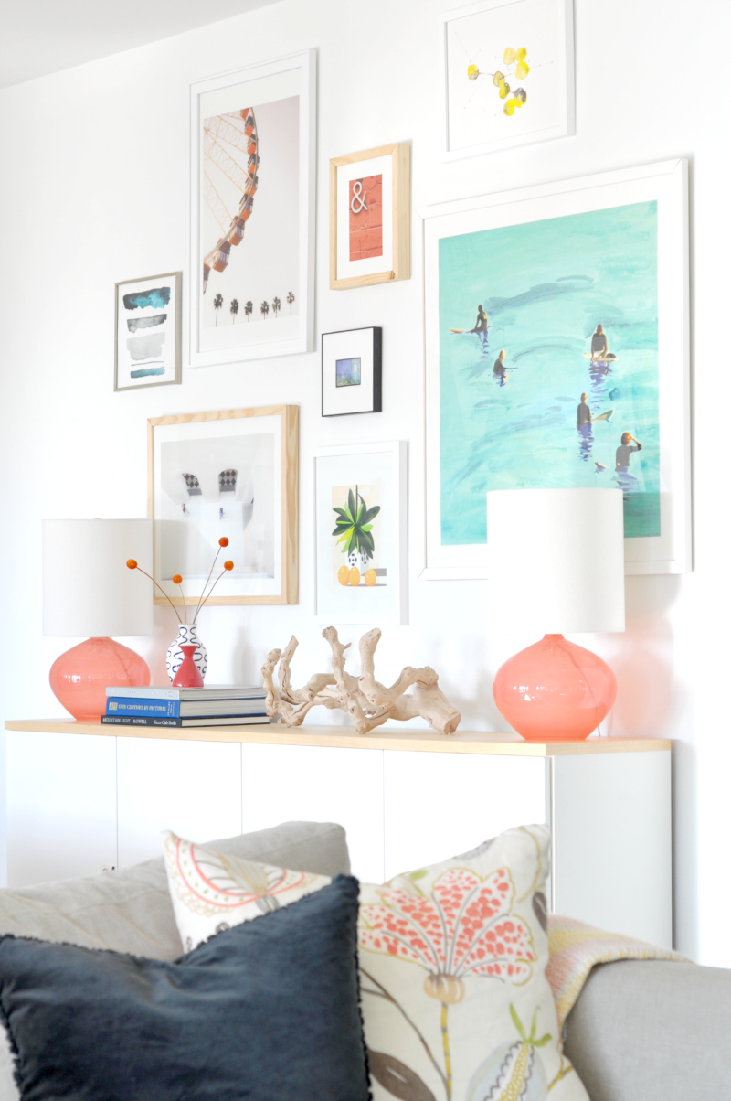 Tips for Creating a Modern Balanced Gallery Wall | Remodelaholic ...