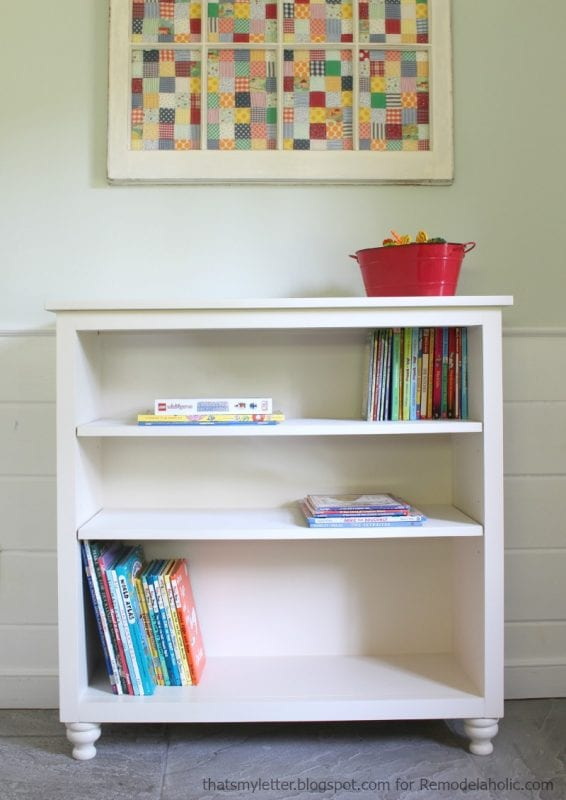 easy bookshelf with adjustable shelves, great detailed tutorial!