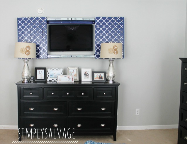 Ordinary How To Hide A Tv Part - 7: Build A Frame And Sliding Doors To Hide The Tv (Simply Salvage)