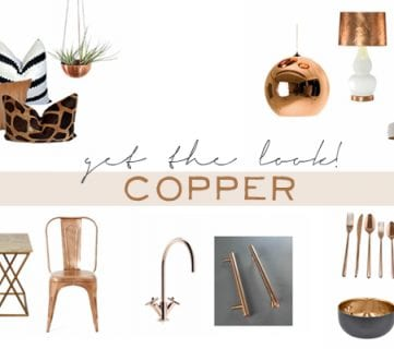 Get The Look: Decorating with Copper